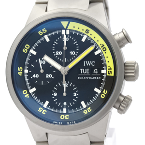 IWC Aquatimer Automatic Titanium Men's Sports Watch IW371903