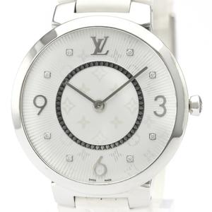 ルイ・ヴィトン(Louis Vuitton) タンブール クォーツ ステンレススチール(SS) メンズ ドレスウォッチ Q1E01