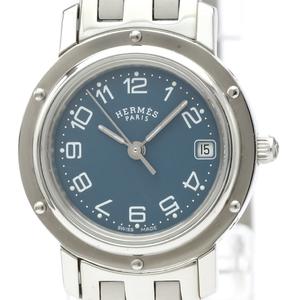 Hermes Clipper Quartz Stainless Steel Women's Dress Watch CL4.210