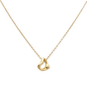 ティファニー(Tiffany) オープンハート K18RG(ローズゴールド) レディース ネックレス