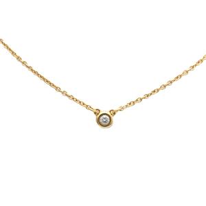 ティファニー(Tiffany) ダイヤモンド バイ ザ ヤード K18イエローゴールド(K18YG) ダイヤモンド レディース ネックレス