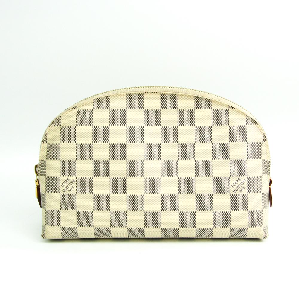 ルイ・ヴィトン(Louis Vuitton) ダミエ ポシェット・コスメティック GM N23346 レディース ポーチ ダミエ・アズール