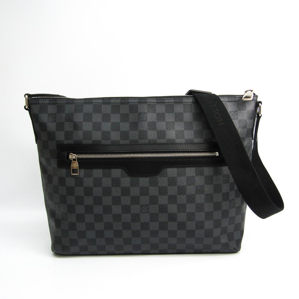 ルイ・ヴィトン(Louis Vuitton) ダミエ・グラフィット ミックMM N41106 メンズ ショルダーバッグ ダミエ・グラフィット