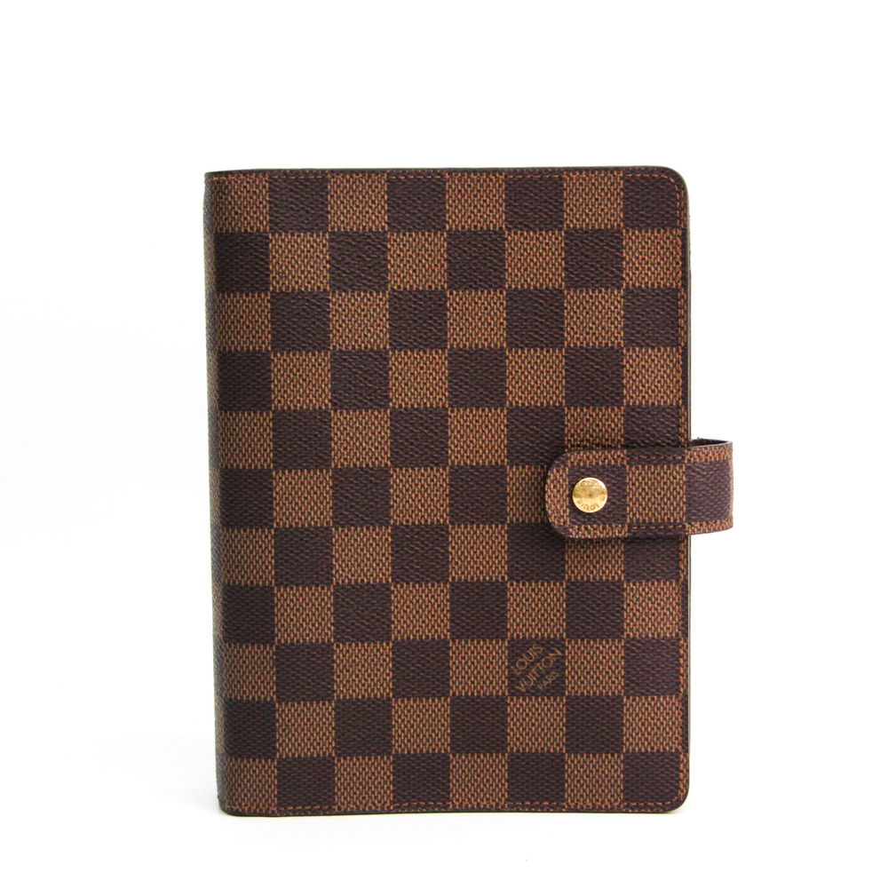 Louis Vuitton Damier Planner Cover Ebene R20701 Agenda MM