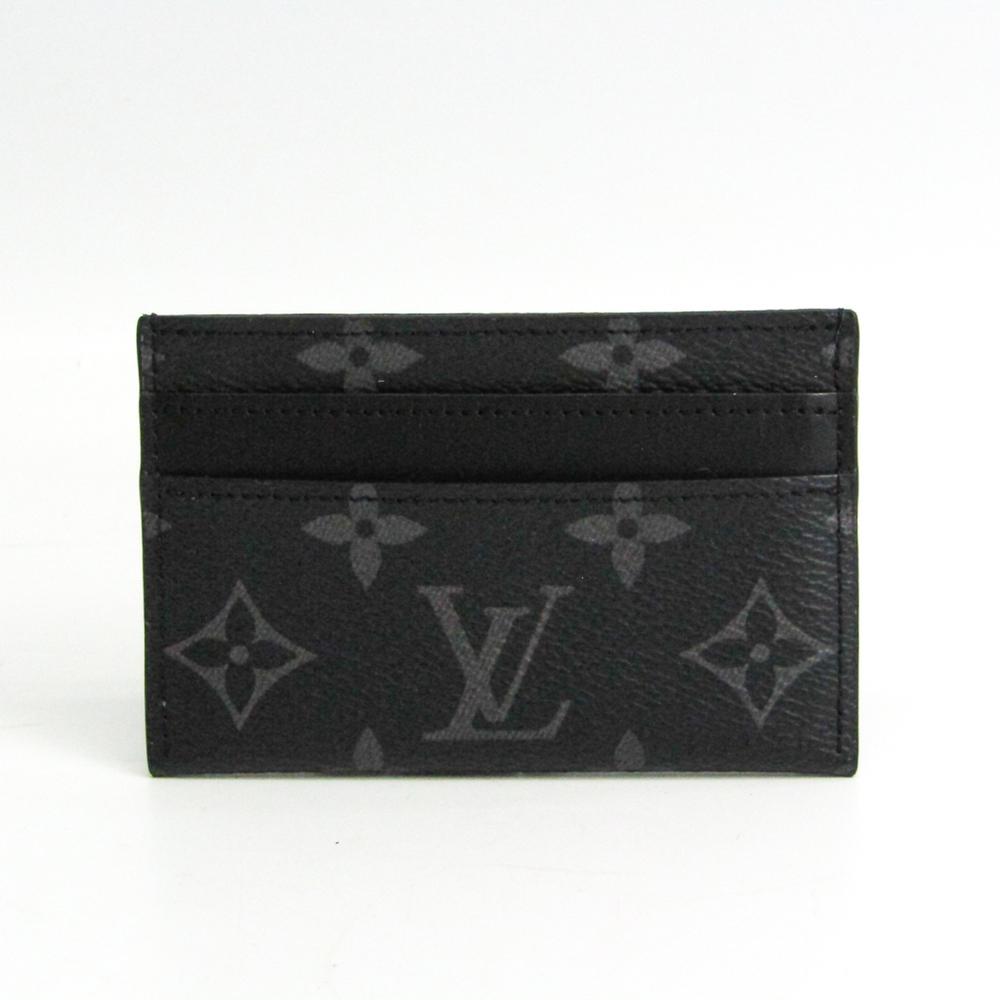 Louis Vuitton Monogram Eclipse Double Card-holder M62170 Monogram Eclipse Card Case Monogram Eclipse
