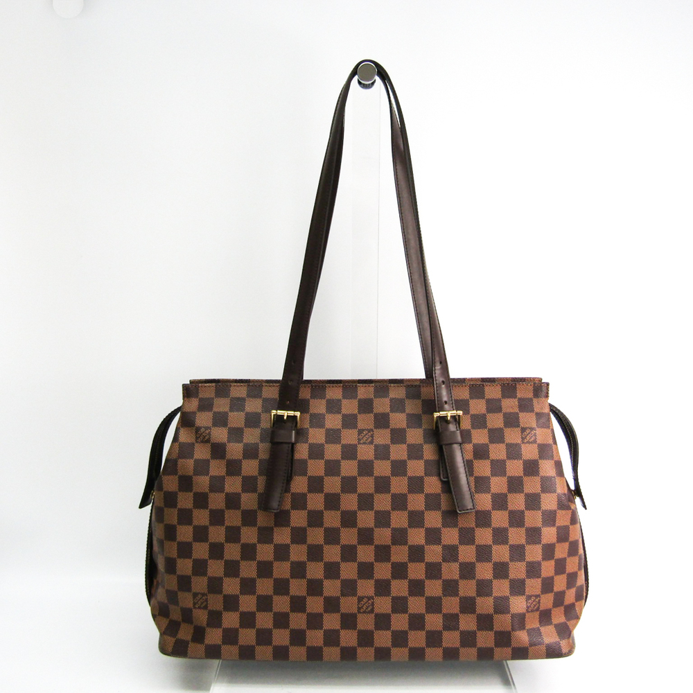 Louis Vuitton Damier Chelsea N51119 Women's Shoulder Bag Ebene