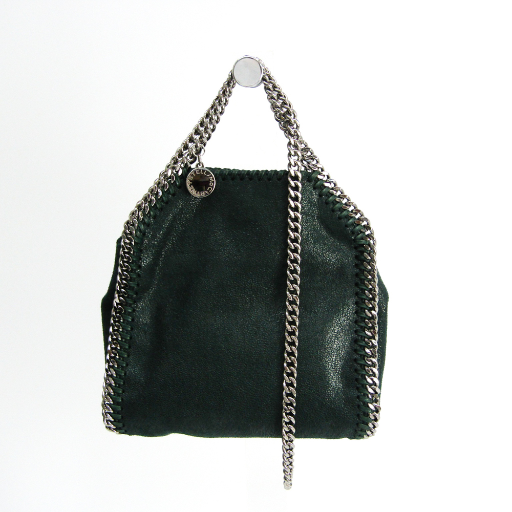 Stella McCartney Tiny 391698W9132 Women's Polyester Handbag,Shoulder Bag Green