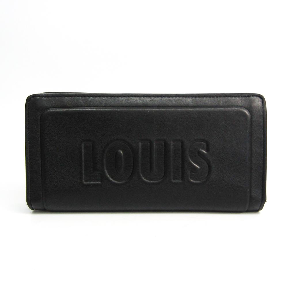 ルイ・ヴィトン(Louis Vuitton) ポルトフォイユ・ブラザ ダーク・アンフィニティ M63256 メンズ レザー 長財布(二つ折り) ノワール