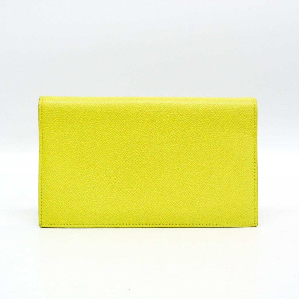Hermes Agenda Planner Cover Lime Yellow Vision