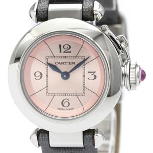 Cartier Miss Pasha Quartz Stainless Steel Women's Dress Watch W3140026