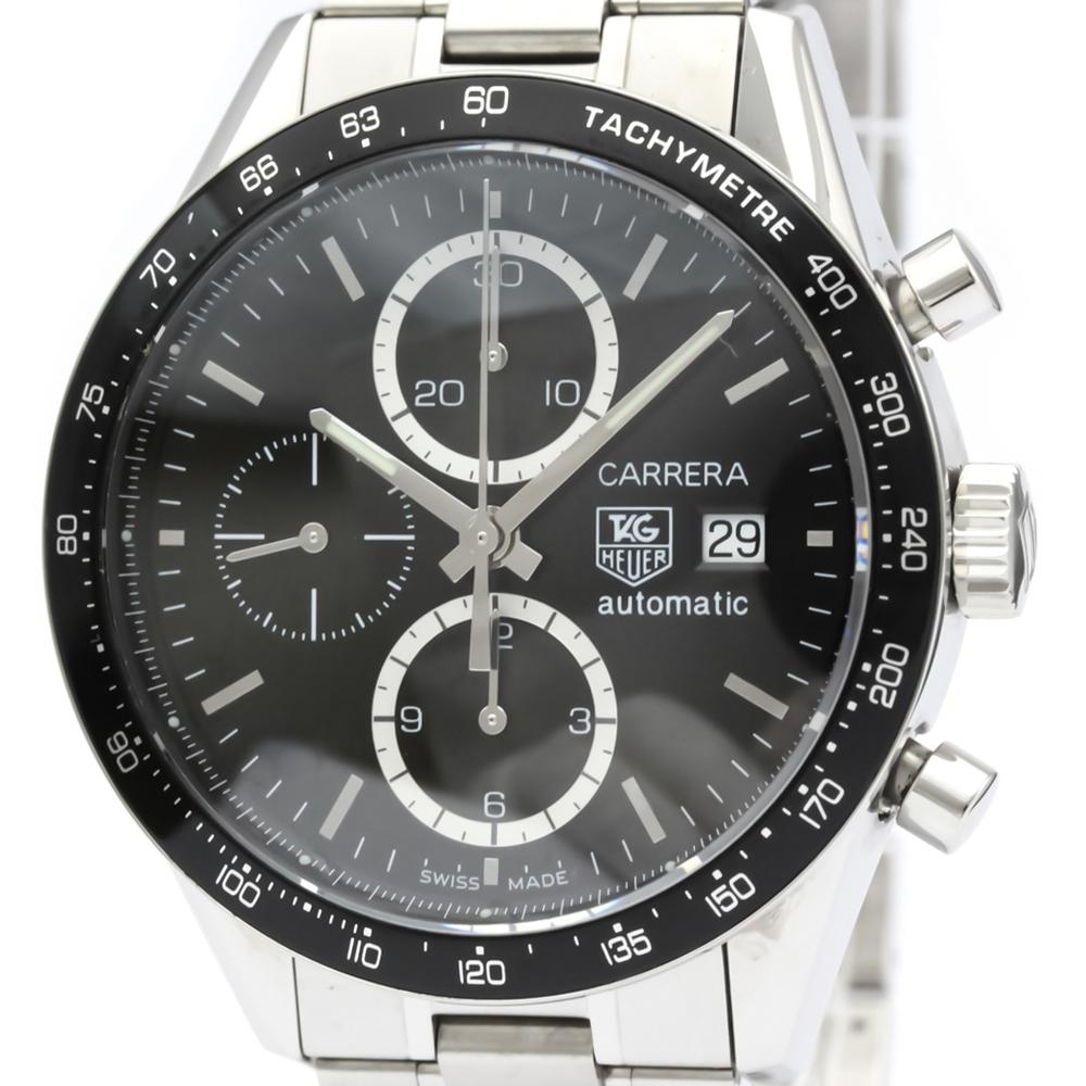 TAG HEUER Carrera Chronograph Steel Automatic Watch CV2010