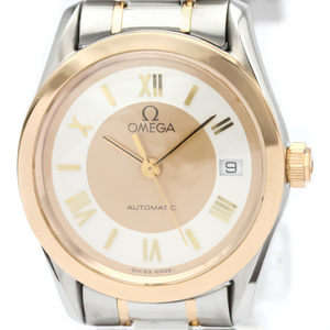 Omega Classic Automatic Pink Gold (18K),Stainless Steel Women's Dress Watch 566.0295