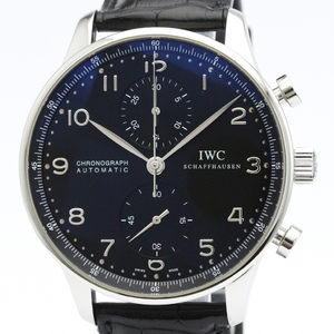 IWC Portugieser Automatic Stainless Steel Men's Sports Watch IW371438