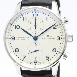 IWC Portugieser Automatic Stainless Steel Men's Sports Watch IW371417