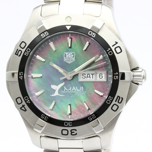 Tag Heuer Aquaracer Automatic Stainless Steel Men's Sports Watch WAF2012