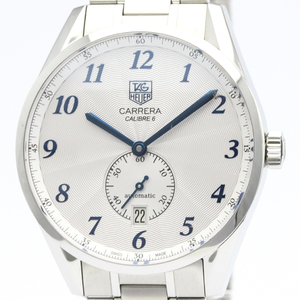 Polished TAG HEUER Carrera Heritage Calibre 6 Automatic Watch WAS2111 BF515970
