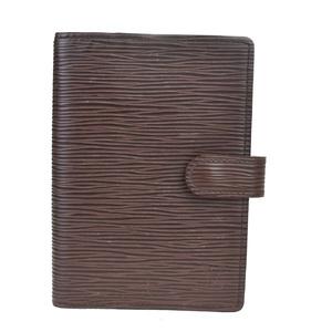 Louis Vuitton Epi Planner Cover Mocha Agenda PM R2005D