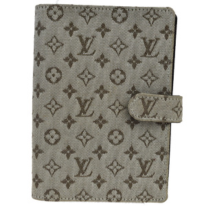 Louis Vuitton Planner Cover Khaki Monogram Mini Agenda PM R20911