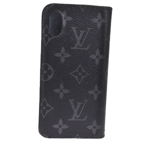 ルイ・ヴィトン(Louis Vuitton) モノグラム・エクリプス iPhone 10 スマホケース カバー PVCスマホ・携帯ケース グレープ