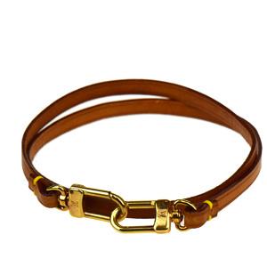 Louis Vuitton Strap Brown Shoulder bag clip