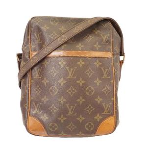 Auth Louis Vuitton Monogram M45266 Women's Shoulder Bag Brown