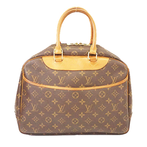 Auth Louis Vuitton Monogram Deauville M47270 Women's Handbag