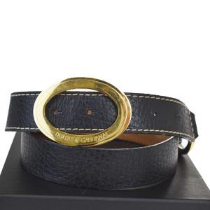 ドルチェ&ガッバーナ(Dolce & Gabbana) ユニセックス レザー ベルト 80