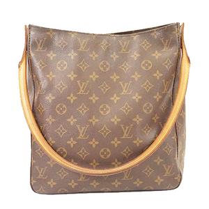 Auth Louis Vuitton Monogram Looping GM M51145 Women's Shoulder Bag Brown