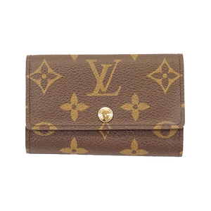Auth Louis Vuitton Monogram M62630 Men,Women,Unisex Key Case