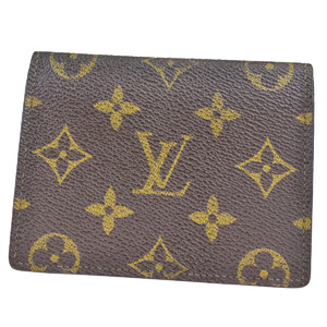 ルイ・ヴィトン(Louis Vuitton) モノグラム レザー カードケース モノグラム