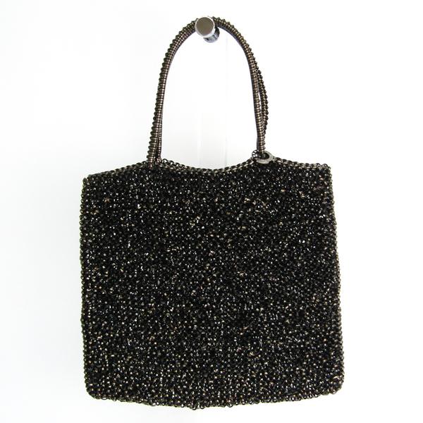 Anteprima Women's Wire Handbag Black,Gold
