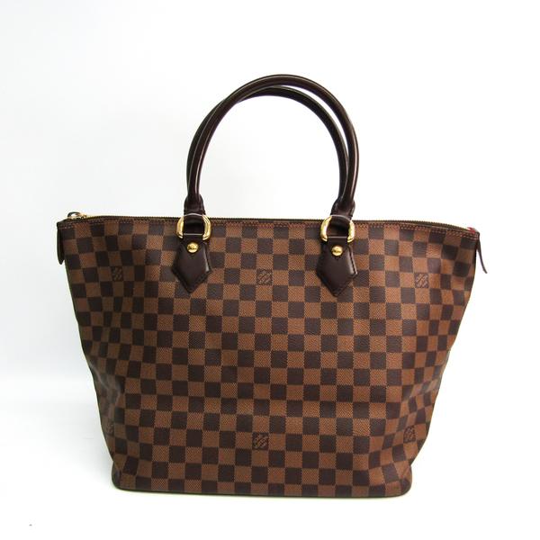 Louis Vuitton Damier Saleya MM N51182 Women's Handbag Ebene