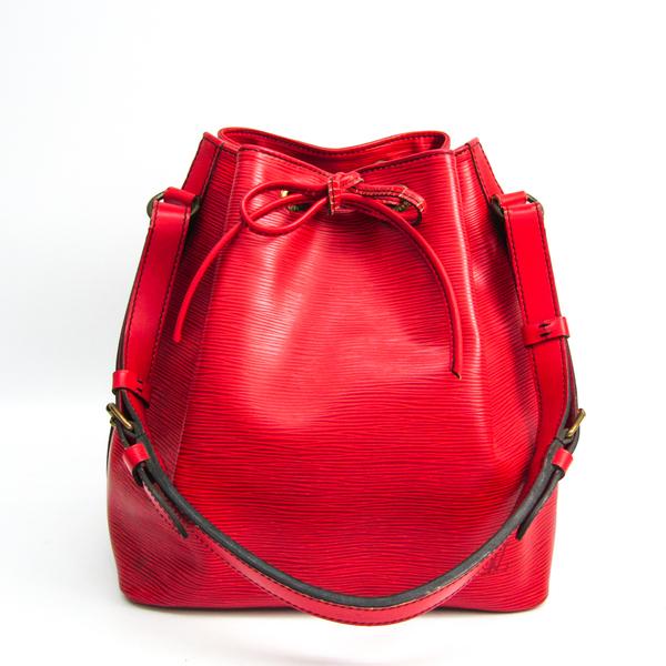 Louis Vuitton Epi M44107 Petit Noe Women's Shoulder Bag Castilian Red