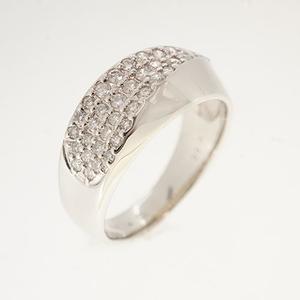 リング ダイヤモンド 0.50ct メレダイヤ Pt900 プラチナ 指輪