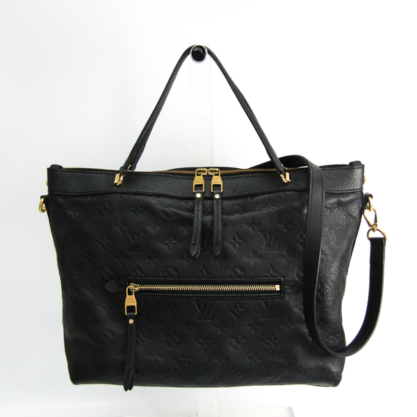 Louis Vuitton Monogram Empreinte Bastille MM M41164 Women's Handbag Noir