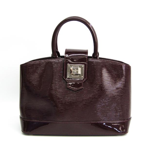 Louis Vuitton Epi Electric Mirabo PM M40454 Women's Handbag Prune