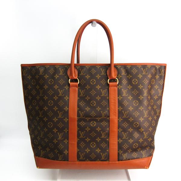 Louis Vuitton Monogram Sac Weekend GM M42420 Women's Handbag Monogram