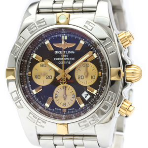Breitling Chronomat Automatic Stainless Steel,Yellow Gold (18K) Men's Sports Watch IB0110