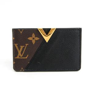 Louis Vuitton Monogram Porto Cult Kimono M56173 Monogram Leather Card Case Monogram,Noir