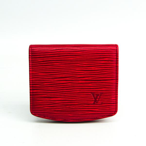 Louis Vuitton Epi Cuvette Spool M63707 Unisex Epi Leather Coin Purse/coin Case Castilian Red