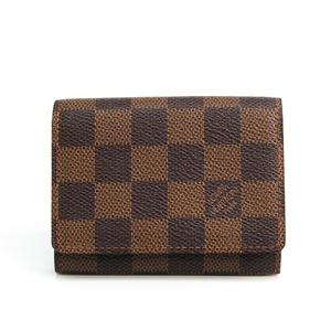 Louis Vuitton Damier Damier Canvas Business Card Case Ebene N62920 Business Card Case