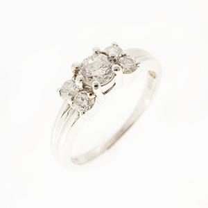 リング ダイヤモンド 0.50 ct Pt900 プラチナ 指輪