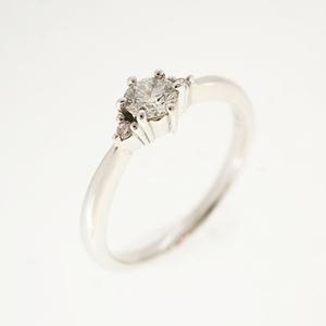 リング ダイヤモンド 0.231 ct ピンクダイヤ Pt900 プラチナ 指輪