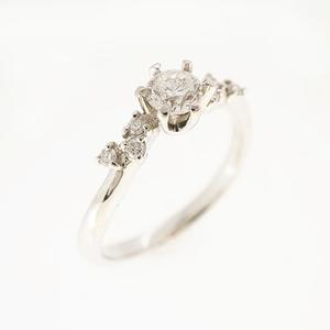 リング ダイヤモンド 0.309 ct Pt900 プラチナ 指輪