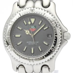 【TAG HEUER】タグホイヤー セル プロフェッショナル 200M ステンレススチール クォーツ メンズ 時計 S99.206