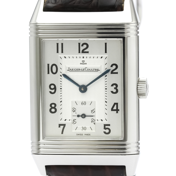 Jaeger LeCoultre Reverso Mechanical Stainless Steel Men's Dress Watch 270.8.62