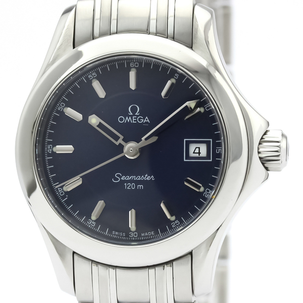 Omega Seamaster Quartz Stainless Steel Women's Sports Watch 2587.80