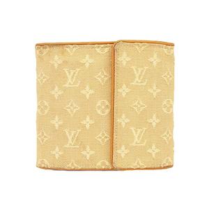ルイヴィトン 財布 モノグラムミニ ポルトビエカルトクレディモネ M92441 ベージュ