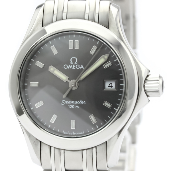 Omega Seamaster Quartz Stainless Steel Women's Sports Watch 2581.43