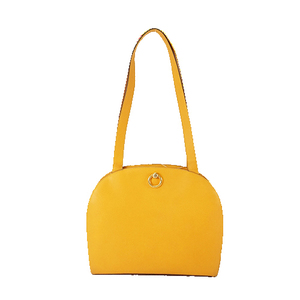 Celine Women's Leather Shoulder Bag Tote Bag Yellow